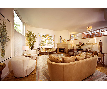 Bronxville Townhouse - Living Room